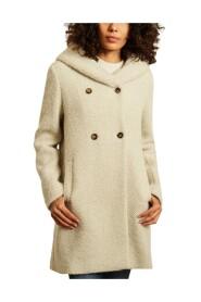 Ricoux mid-length hooded coat