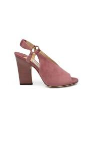Suede sandaler