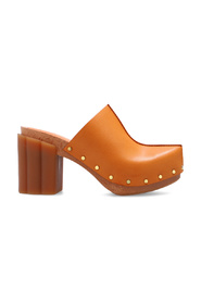 Daisy heeled clogs