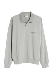 Long Sleeve French Terry Polo
