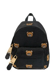 Micro backpack with Teddy bear