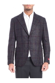 Double-breasted woolen cloth jacket