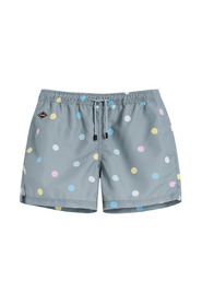 Mixed Dot swimming trunks