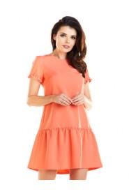 Sukienka z krótkim rękawem A273