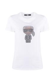 Ikonik Karl strass T-shirt