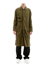 Raincoat with cargo pockets