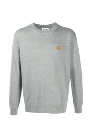 Tiger Crew Neck Jumper