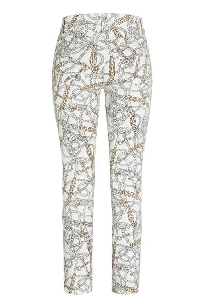 Beige Parla Ancle Cut Pants   Cambio Spodnie Materiałowe Dopasowane