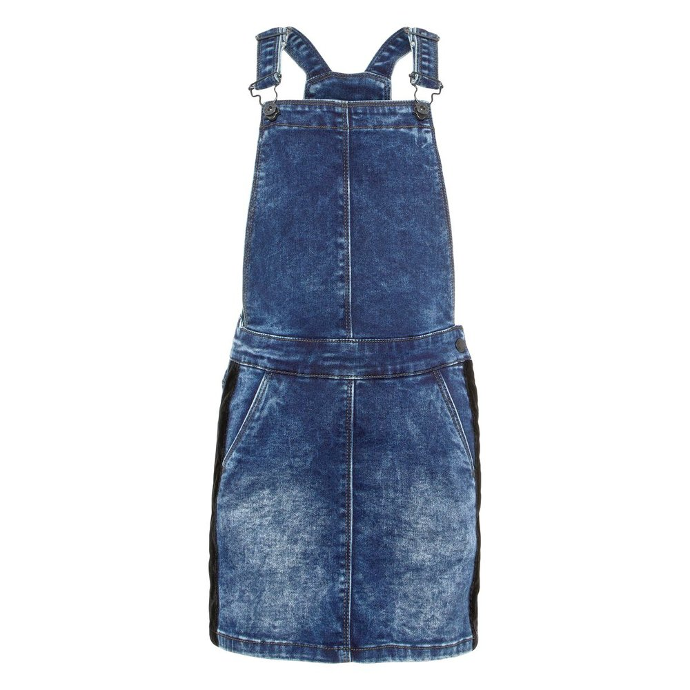 Dungaree Dress denim