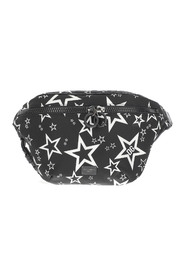 Pouch finished in all-over star print