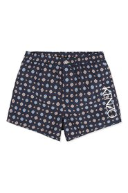 Floral Pattern Swimshorts
