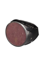 Jewellery Flush Rhodonite Circle Ring
