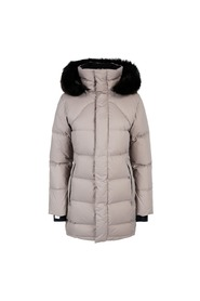 Beige Fleischer Couture Down Coat Dunjakke