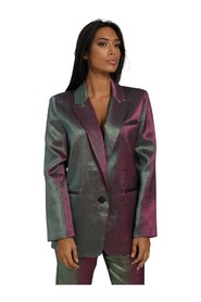 SATIN JACKET WITH BUTTONS IS20FW-J221