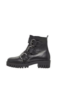 Ankle Boots Triple-buckle