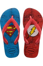 Havaianas - Klipklapper, Kids Top Herois DC - Ruby Red