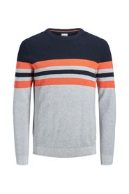 Knitted Pullover Stripe block
