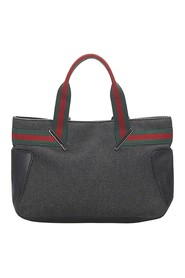 Web Denim Handbag