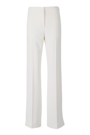 Trousers with side pleat