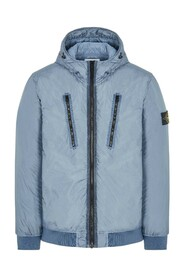 Garment Dyed Crinkle Reps NY with Primaloft® Mid Length Hooded Jacket