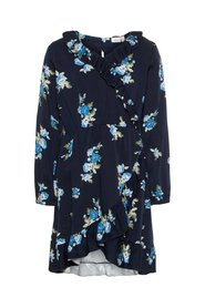 Wrap dress floral printed