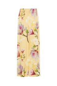 Wide-leg trousers floral