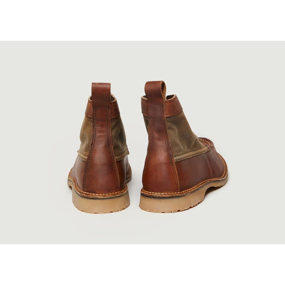 Red Wing Shoes Dark Brown Wacouta Chukka Boots Red Wing Shoes
