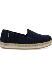 Navy Toms Palma Suede