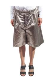 Pantalone corto laminato