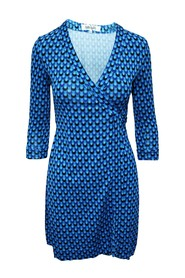 Printed Wrap Dress -Pre Owned Condition Very Good