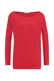 Studio Anneloes 02612 Lisbon perforated shirt Red