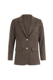 Suit jacket in checks