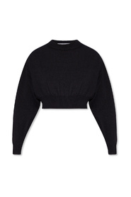 Sweater with cut-outs