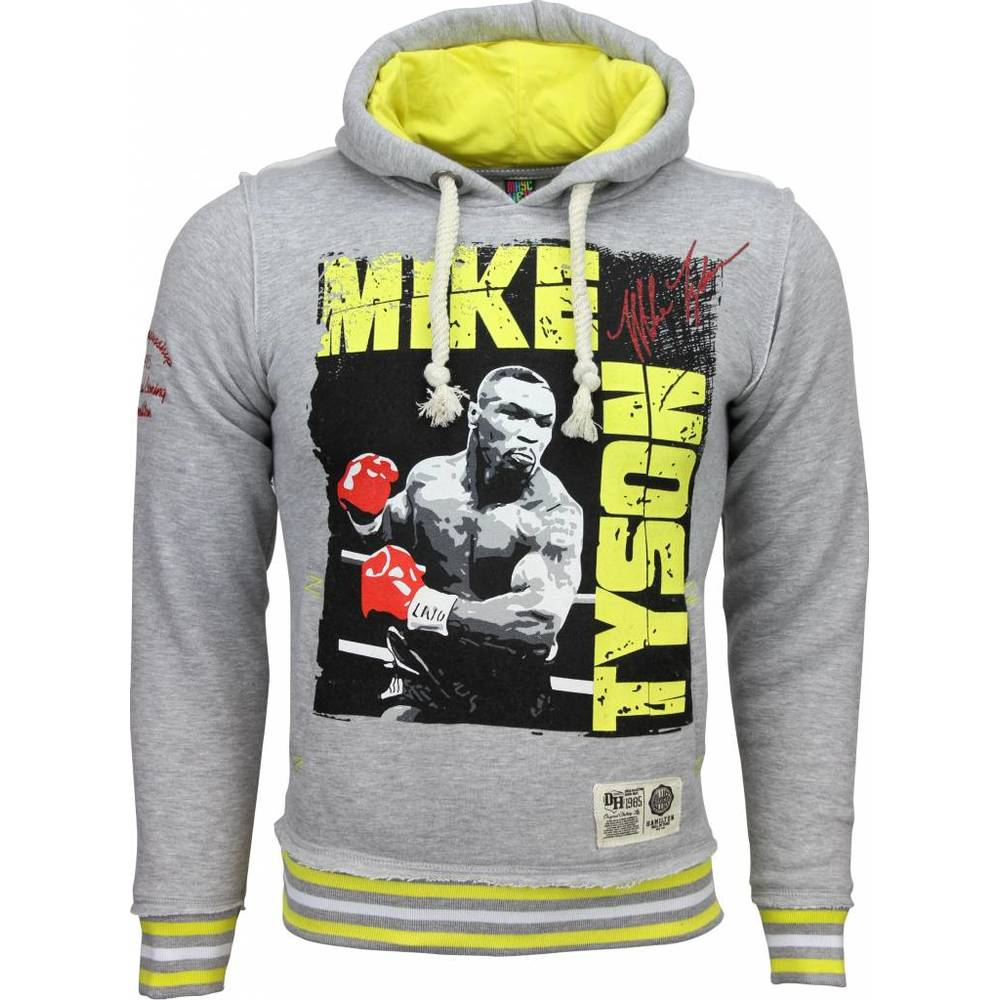 Casual Hoodie Mike Tyson Boxing Legend Print Hood
