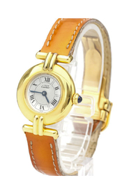 Pre-owned Colisee Quartz Gold Plated Women's Dress Watch