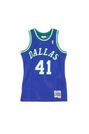 NBA Swingman Jersey Dirk Nowitzki No41 1998-99 Dalmav Road Tank Top