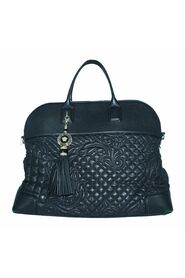 Barocco Quilted Leather Tote med dusk