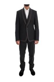 Wolle One Button 3-teiliger Anzug