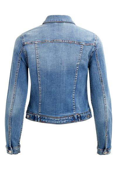 Medium Blue Denim Jacket Denim  VILA  Jeansjackor