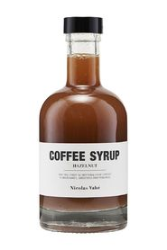 Coffee Syrup, Hazelnut Mat