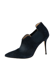 Suede Dildi Ankle  Boots