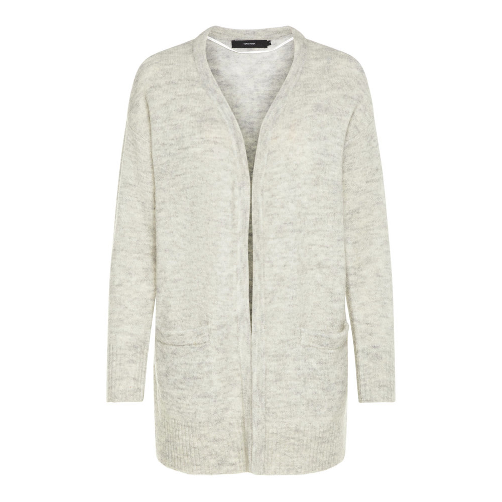 Knitted Cardigan Open Wool