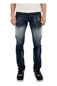 Super Straight Cut Skull jeans
