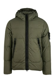 Padded Down Hooded Jacket