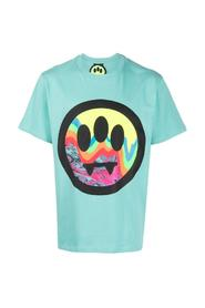 T-Shirt with Smile Print