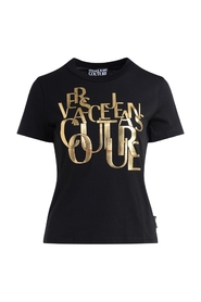 T-Shirt with golden lettering