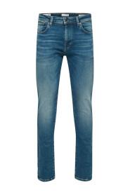 Classic Fit Fem fickor Jeans