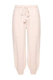Loose-fitting wool trousers