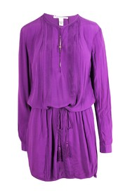 Dress With Pleats Details -Pre Owned Condition Excellent