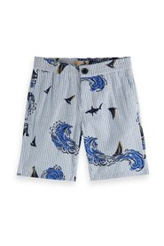 All-over printed shorts